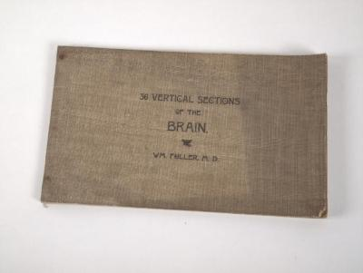Book, '36 Vertical Sections Of The Brain' by Dr. W.M. Fuller