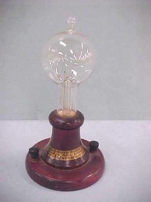 Edison Commemorative Light Bulb