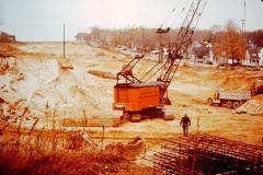 Photograph, Urban Renewal 196 Freeway construction Grand Rapids Michigan