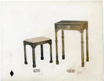 Photographic Print, Ralph W. Demmonu0027s Furniture Design And Ralph Morse  Furniture Co.