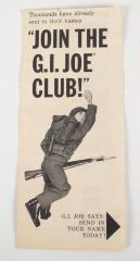 Pamphlet, G.I. Joe