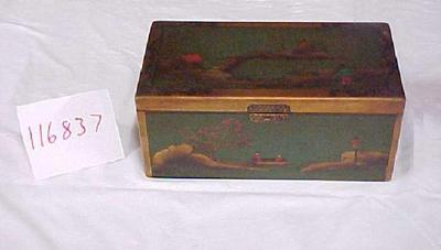 Lacquer Box With Landscapes