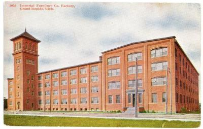 Postcard, Imperial Furniture Company Factory
