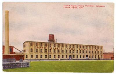 Postcard, Grand Rapids Fancy Furniture Company