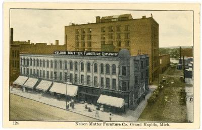 Postcard, Nelson Matter Furniture Company