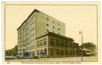 Postcard, Manufacturer's Exhibition Building