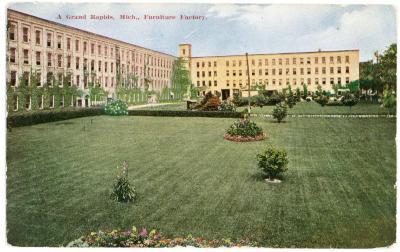 Postcard, Grand Rapids Chair Company