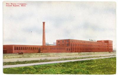 Postcard, The Macey Company