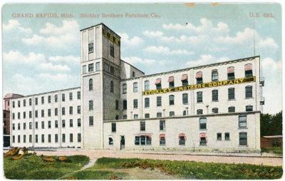 Postcard, Stickley Brothers Furniture Company