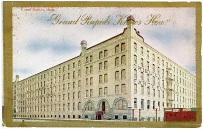 Postcard, Oriel Cabinet Company, Fancy Furniture