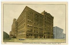 Postcard, Leonard Fountain Exposition Building