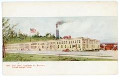 Postcard, Luce Furniture Company Factory