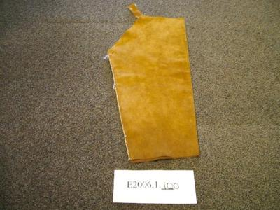 Sleeve, Deer Skin Hide Or Leather, Tan