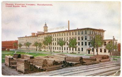 Postcard, Phoenix Furniture Company, Manufacturers