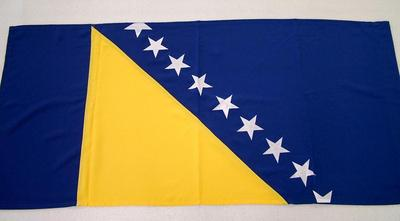 Bosnian Flag, Ref. Sanela Sprecic Archival Collection #151