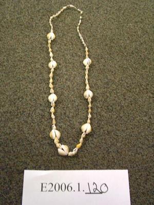 String Of Shells, Fake Wampum