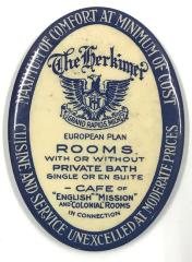 Pocket Mirror, 'Herkimer Building'