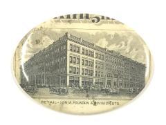 Pocket Mirror, 'Klingman Building'