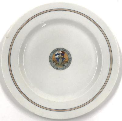 Plate, Souvenir