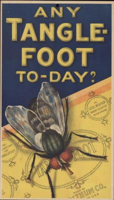 Poster, Any Tanglefoot Today
