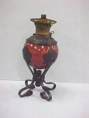 Kerosene Lamp, Rochester Central Draft Burner