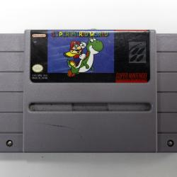 Super Nintendo Entertainment System, Super Mario World Game Cartridge