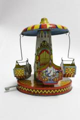 Carousel, Toy With 4 Carousel Cars