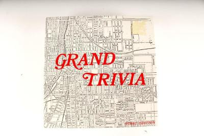 Board Game, Grand Trivia, First Edition