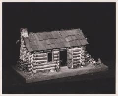 Model, Michigan Pioneer Log Cabin