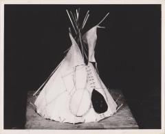 Model, Plains Indian Tipi or Teepee or Tepee