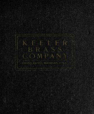 Trade Catalog, Keeler Brass Company, Plates No. 330 - No. 420