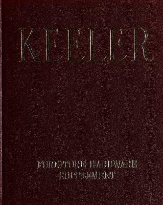 Supplement, Keeler Brass Company, Furniture Hardware, Catalog No. 68