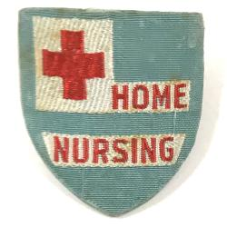 Pin-Back Button, Red Cross