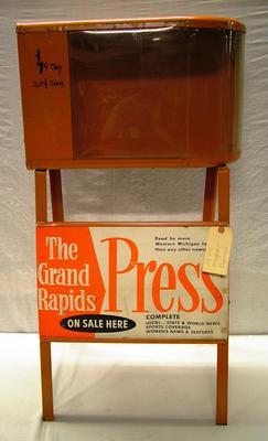 Dispenser, Newspaper