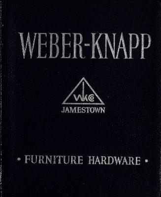 Trade Catalog, Weber-Knapp Furniture Hardware, Catalog No. 41