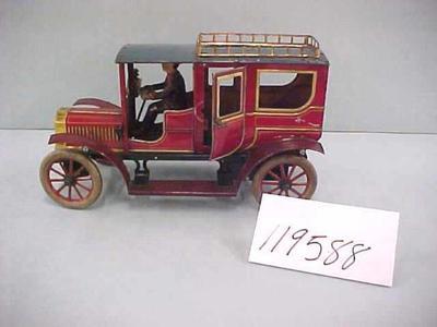 Metal Toy Bus