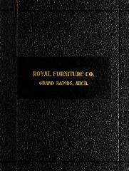Trade Catalog, Royal Furniture Company and Robert W. Irwin Company, Library No. 9