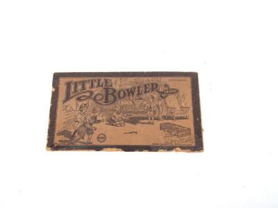 Bowling Pin Game, 'little Bowler,' In Box
