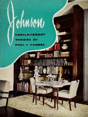 Trade Catalog, Johnson Furniture Company, Contemporary Designs by Paul T. Frankl