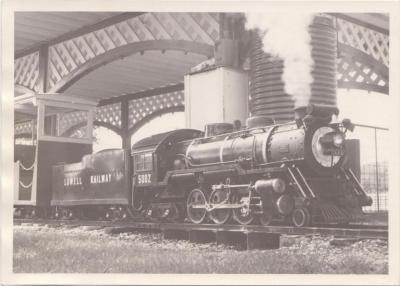 Photograph, Lowell Railway