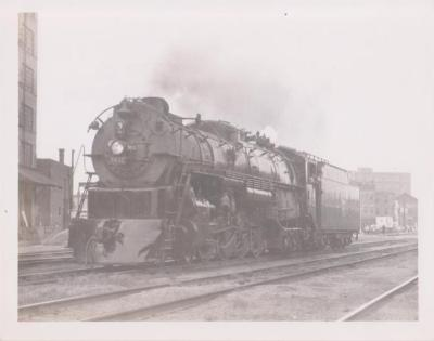 Photograph, Chicago, Burlington and Quincy Railroad, Engine #5632