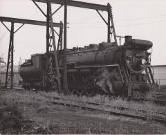 Photograph, Grand Trunk Western Railroad, Engine #6038