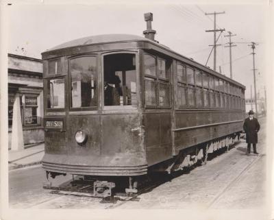 Photograph, Electric Streetcar, Division Avenue Route