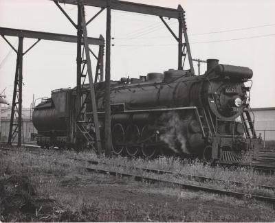 Photograph, Grand Trunk Western Railroad, Engine #6038