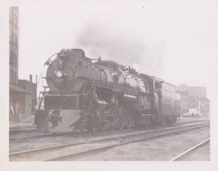 Photograph, Chicago, Burlington and Quincy Railroad, Engine #5632