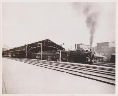 Photograph, Railroad, Possibly New York Central Railroad, Possibly Engine #4638