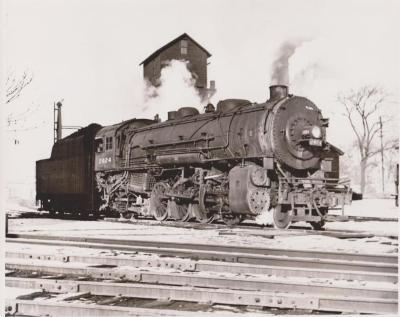 Photograph, New York Central Railroad, Engine #2024