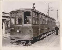 Photograph, Electric Streetcar, Division Avenue Route