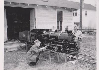 Photograph, Ramona Park Miniature Railroad