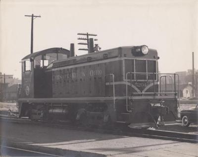 Photograph, Chesapeake and Ohio Railway, Engine #5204